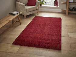 Add a Touch of Romance to a Room with a Red Rug