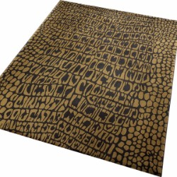 African Safari Croco 0721-01 Brown Rug