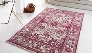 Capri Glorious Violet Cream Rug