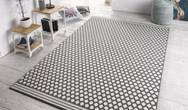 Capri Spot Grey Cream Rug