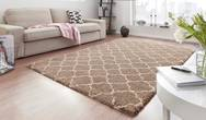 Grace Luna Brown Cream Rug