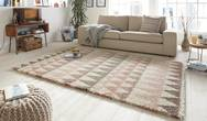 Allure Triangle Rose Cream Rug