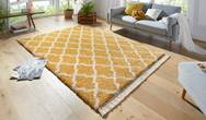Desire Pearl Gold Cream Rug