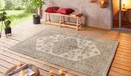 Beach Navarino Taupe Cream Rug
