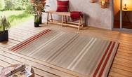 Beach Paros Red Multi Rug
