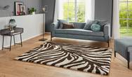Allure Desert Brown Cream Rug