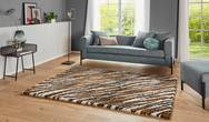 Allure Life Brown Cream Rug