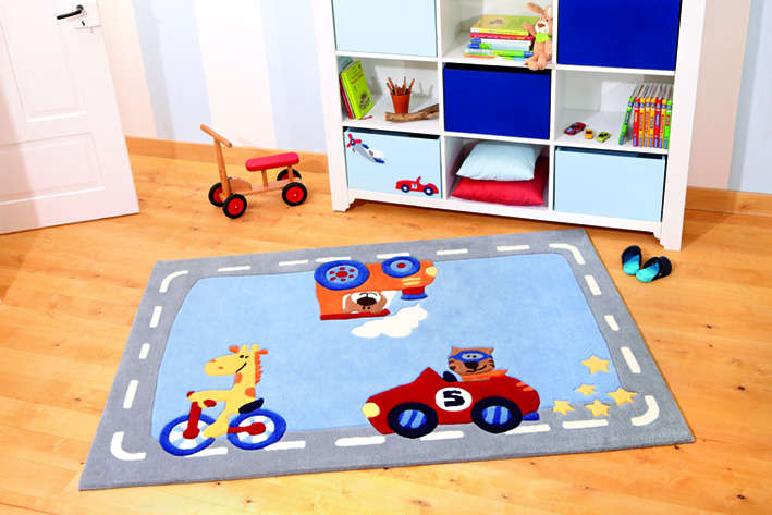 SigiKid 3 Happy Street Traffic 3346-01  Rug