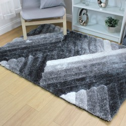 Accent Lattice Grey Silver Rug