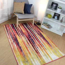 Radiant Art Stripe Multi Rug