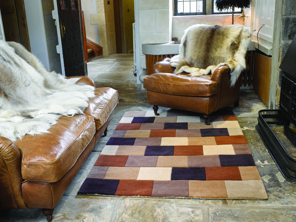 Woodland Elm Brown Rug