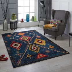 Atlas 80 B Blue Rug