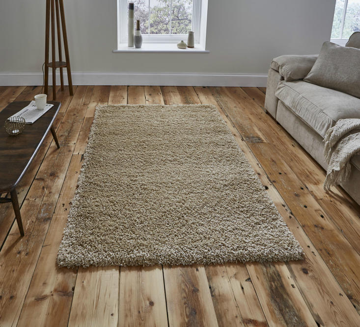 Vista - Plain 2236 Light Beige Rug