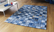 OCR Denim Rugs