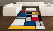 Coloured Cubes Rugs