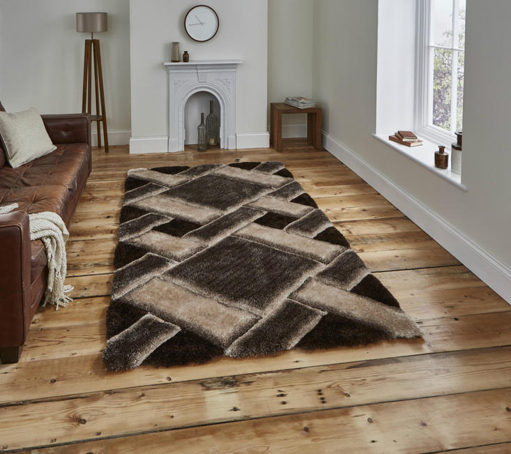 Noble House 9716 Brown Beige Rug