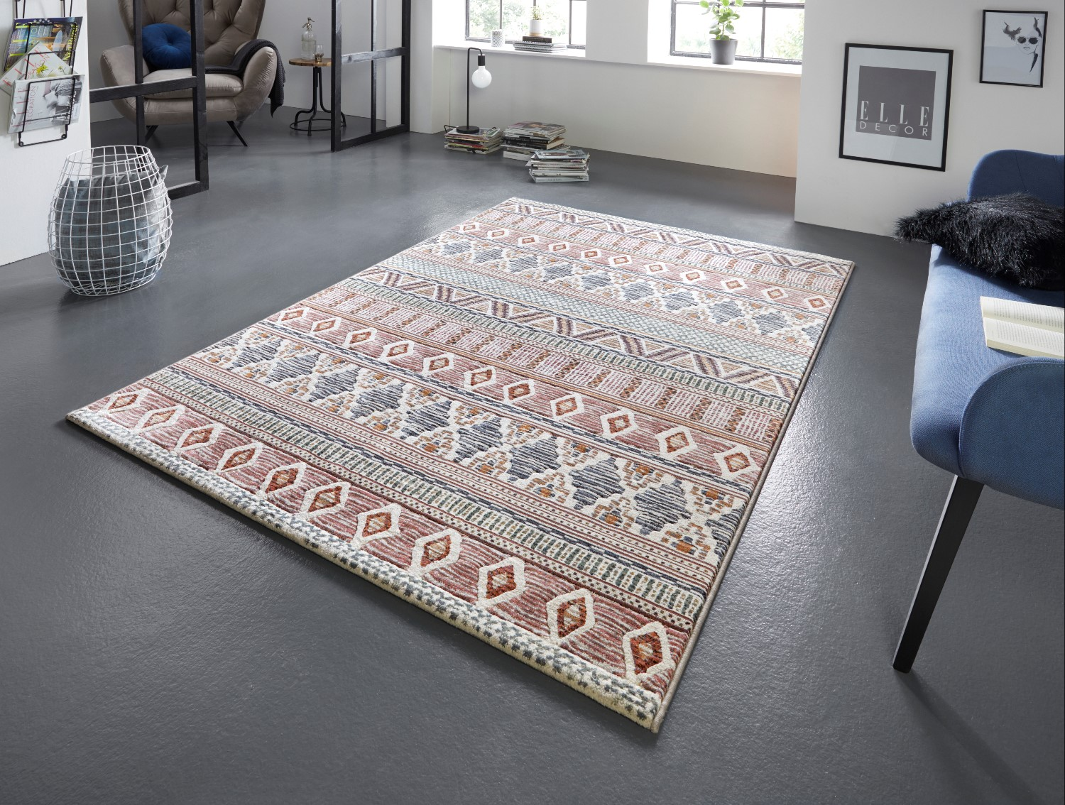 Arty Roanne Multicolour Rug