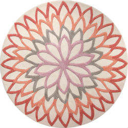 Lotus Espirt 4007-03 Orange Rug