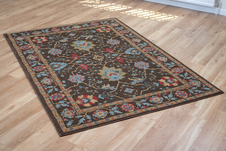Ziegler 413 Brown Rug