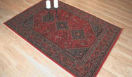 Afghan 9595-1201 Turkoman Red Rug