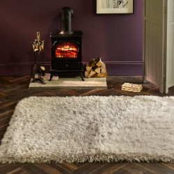 Extravagance Silver Rug