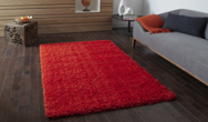 Vista - Plain 2236 Orange Rug