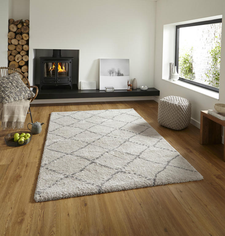 Royal Nomadic 5413 Cream Grey Rug