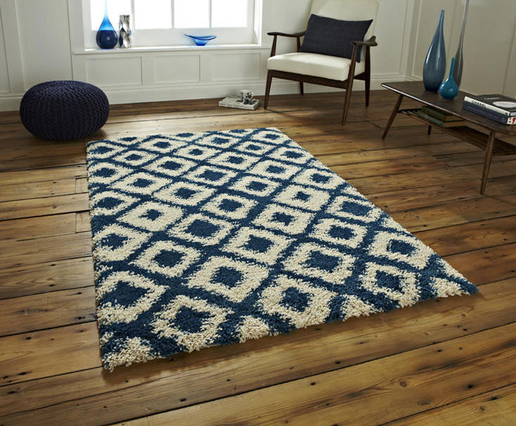 Royal Nomadic 5456 Blue Beige Rug