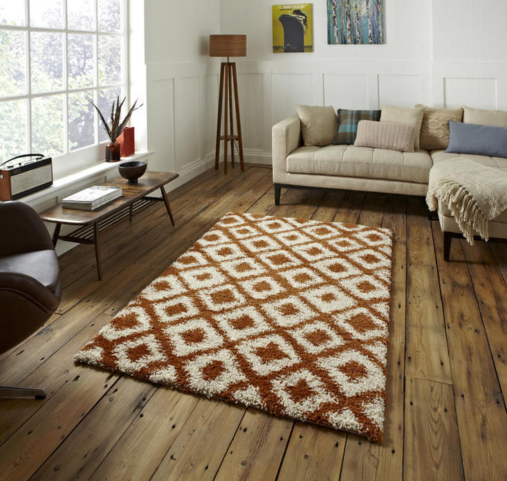 Royal Nomadic Copper Beige Rug