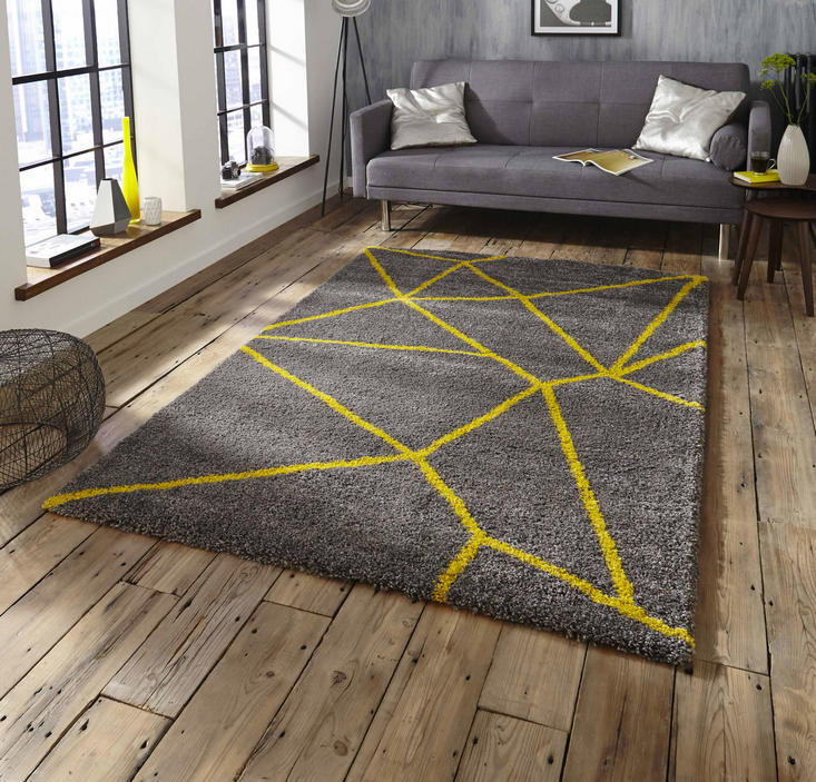 Royal Nomadic 5746 Grey yellow Rug