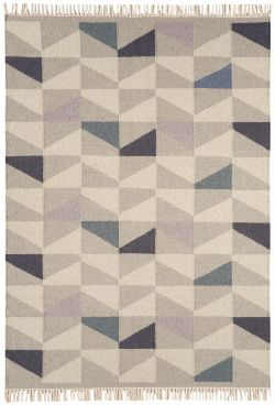 Hackney Kelims Geo Heather Rug
