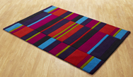 Jazz Blocks Multi Rug