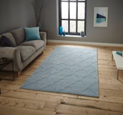 HK 8583 Light Blue Rug