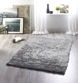 Glamour Silver Rug
