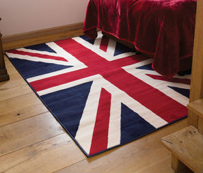 Buckingham Red white blue Rug