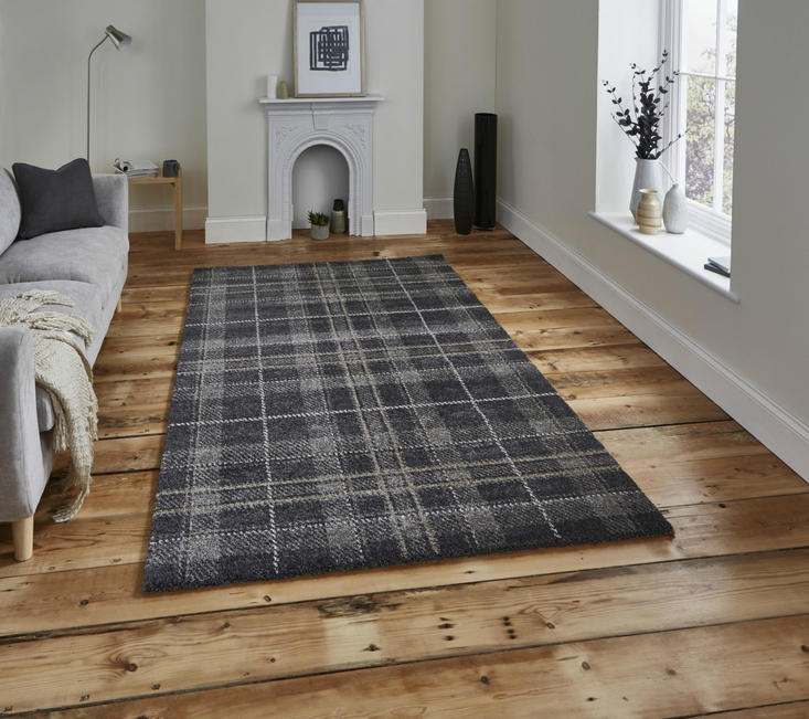 Wellness Dark Grey Rug