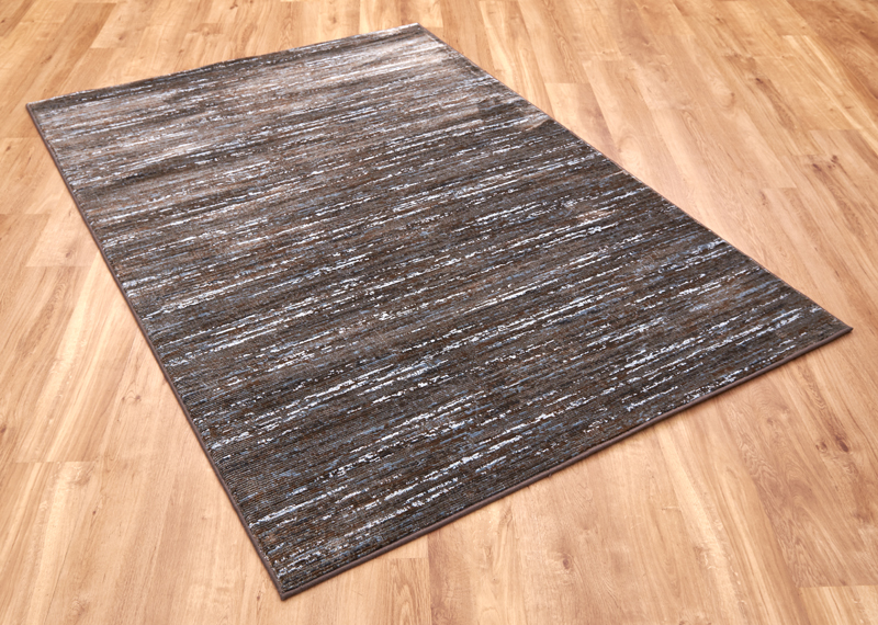 Strata 15002 7242 Brown Blue Rug