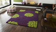 Rosetta RS 10 Purple Green Rug
