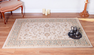 Ziegler 7709-Cream-Green Rug