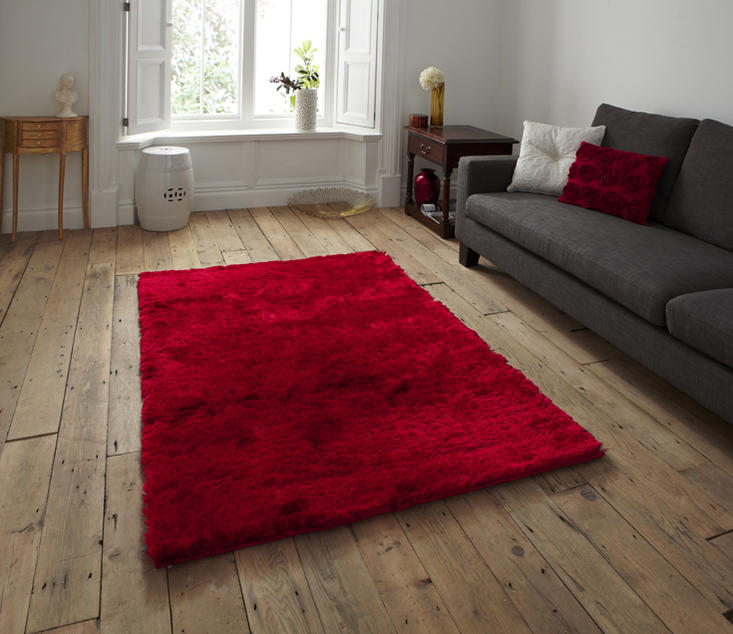 Sable Red Rug