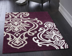 Purple Rugs Uk Lilac Aubergine Plum Amp More Rugs Direct