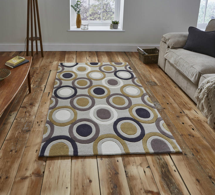 Hong Kong 9646 Beige Yellow Rug
