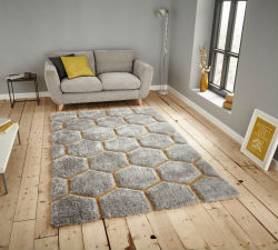 Nobel House 30782 30782 Grey Yellow Rug