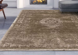Vintage 8381 Black Pepper Rug