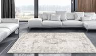 Fading World Medallion 8383 Salt & Pepper Rug