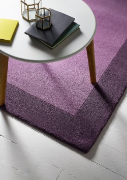 Purple Wool Rugs Free Uk Delivery Rugs Direct