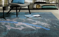 Graffiti 4479-64 Blue Rug