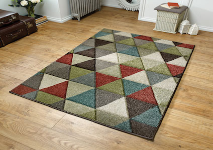 Viva 663 X Multi coloured Rug