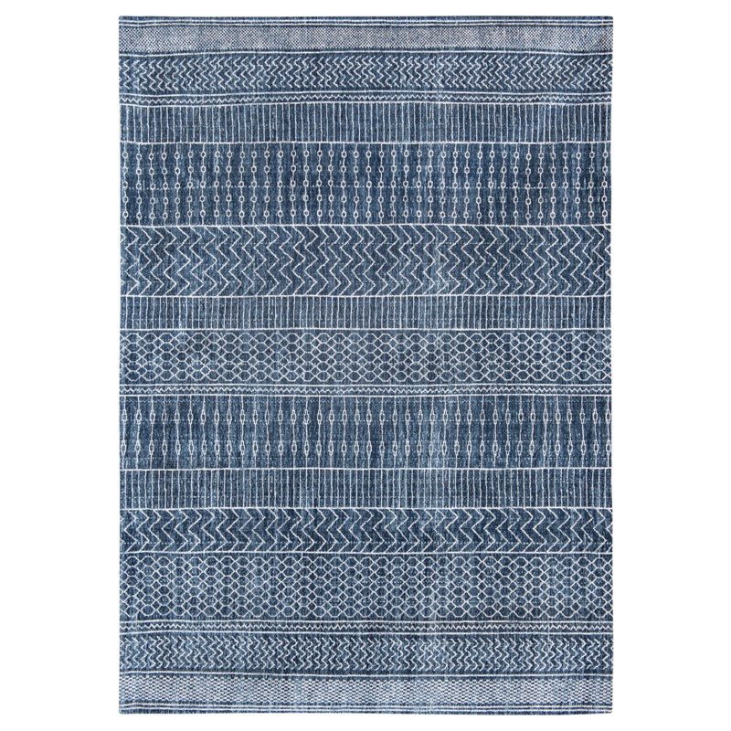 KHAYMA 8676 in Scarab Blue Rug
