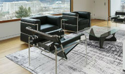Mad Men 8926 Metro B&W Rug